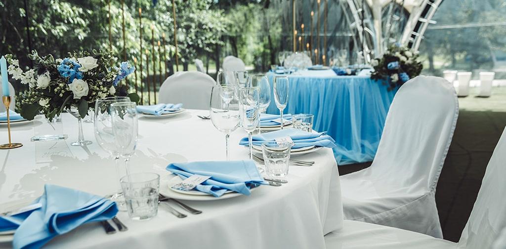 Оформление свадебной церемонии и зала